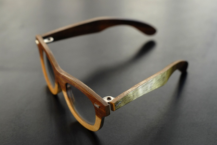 wooden glasses by Kobus Prinsloo