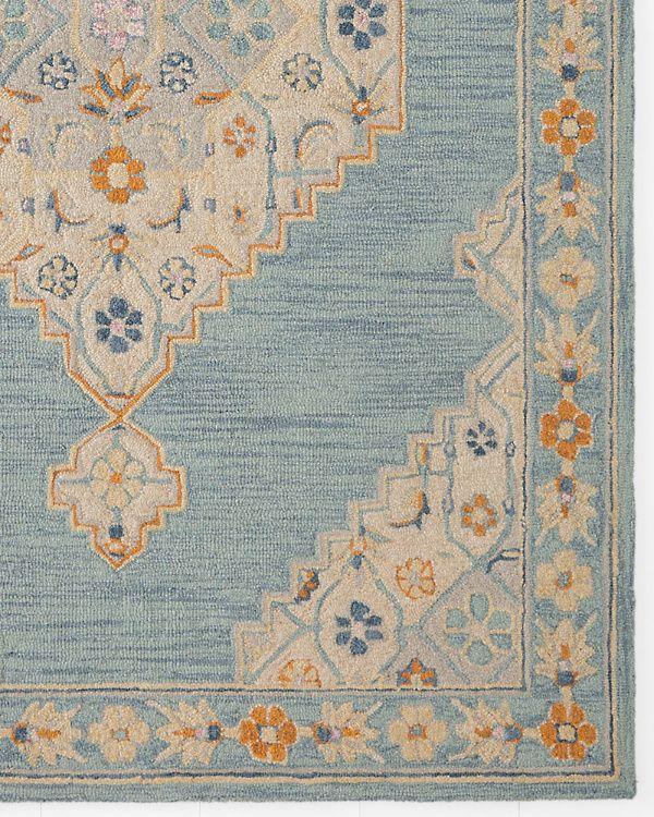 Aviva Fl Hooked Wool Rug Garnet