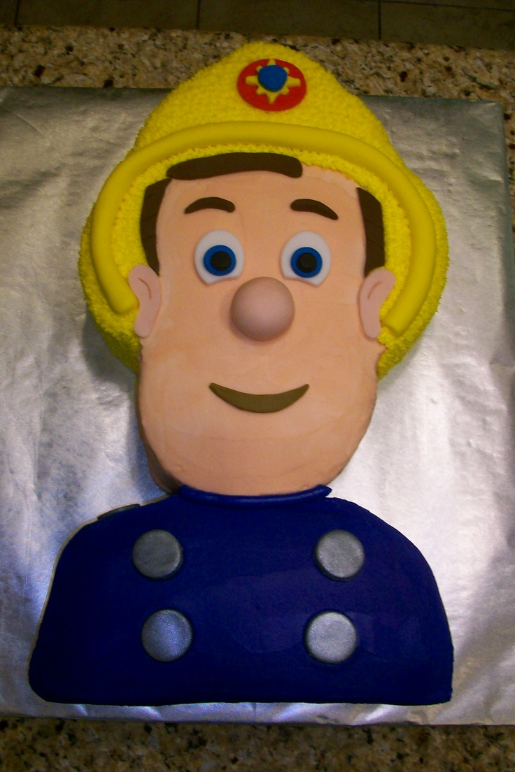 Fireman Sam My Fave Cake Great Birthday Party Ideas