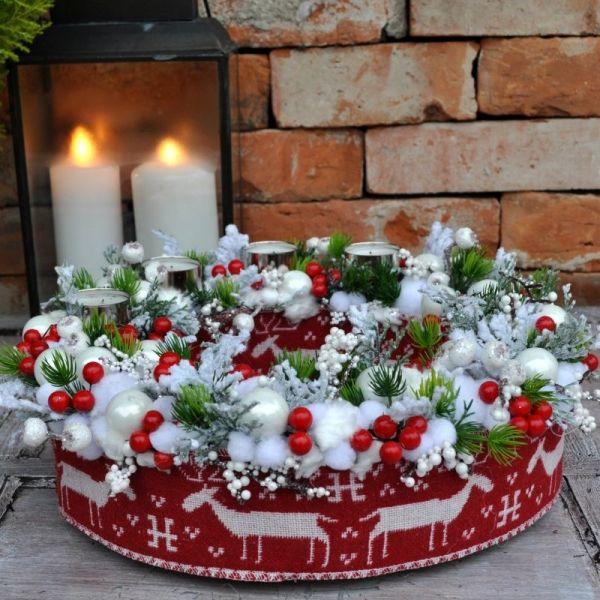 Wianek Świąteczny Nr 229 - Greendeco