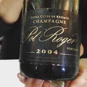 Champagne – Pol Roger – Brut Vintage – 2004   LARRY LEVAN 20