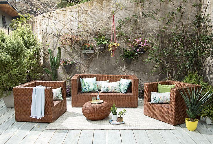 Renueva tu terraza con artesanía de #Chimbarongo  #OrgullososDeLoNuestro