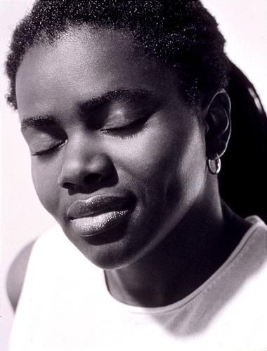 """Why are the missiles called peace keepers/When they're aimed to kill/Why is a woman still not safe/When she's in her home/Love is hate/War is peace . . . But somebody's gonna have to answer/The time is coming soon/Amidst all these questions and contradictions/There're are some who seek the truth."" Tracy Chapman"