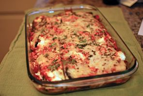 Grilled Eggplant and Zucchini Parmesan - the grilling should add ...