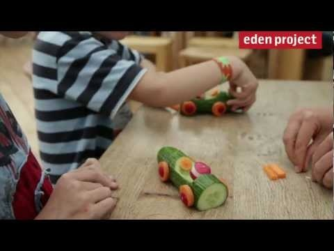 How to make vegetable lego