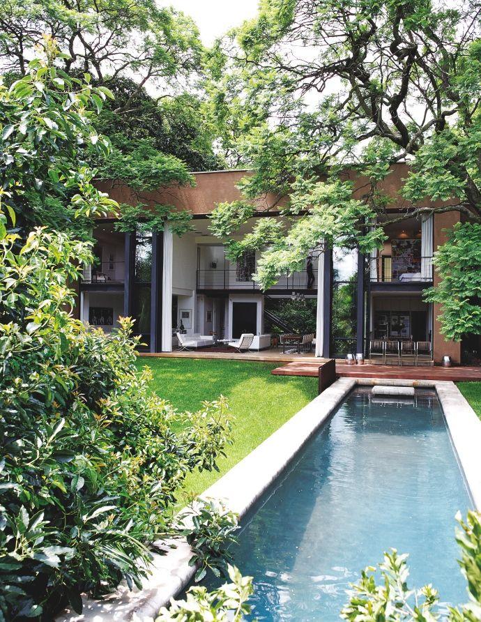 Une maison contemporaine à Johannesbourg/A contemporary house in Johannesburg