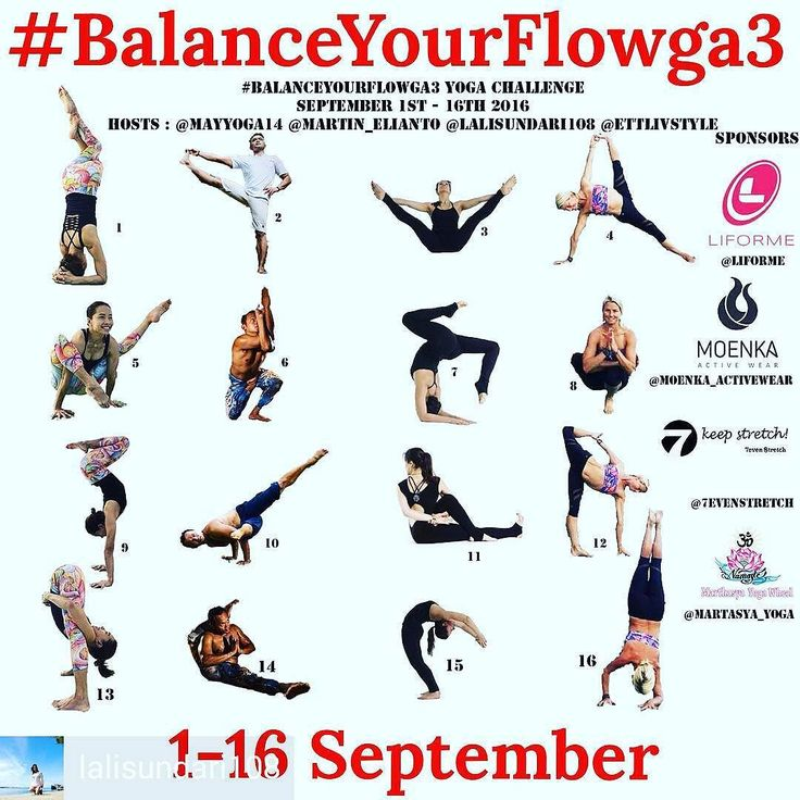 @Regrann from @lalisundari108 -  We are back with our New #balanceYourFlowga3  Are you ready to join us for the new #yogaflow?! Dance with us create with us - be happy!  1. Repost this flyer before challenge starts.  2. Follow all hosts @mayyoga14 @martin_elianto @lalisundari108 @ettlivstyle  and sponsors @moenka_activewear @liforme @7evenstretch @martasyayoga  3. Participate everyday and win prizes!  Здравствуйте дорогие друзья! Мы нашей старой неутомимой командой начинаем новый #йога…