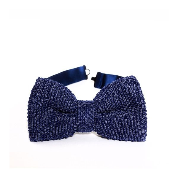 Bow Tie Mid Blue