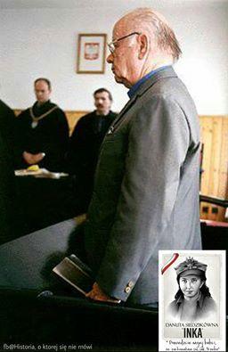 W.Krzyżanowski,skazał Inkę na śmierć.