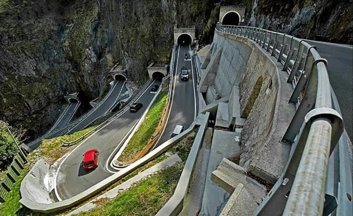 San Boldo Pass! That would be great passing through it