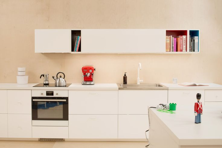 Ikea Metod & Todemo wall units  1 x 80cm Metod w/ white gloss door 1 x 60cm Metod w/ white gloss door 2 x 20cm Tutemo blue 1 x 40cm Tutemo red