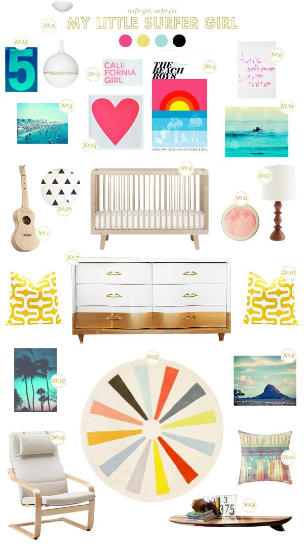 surfing baby nursery inspiration-Love the surfing pillow!  This website has awesome photographs for sale and they aren't that expensive.
