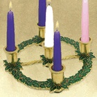 more information about Christmas Holly Advent Wreath