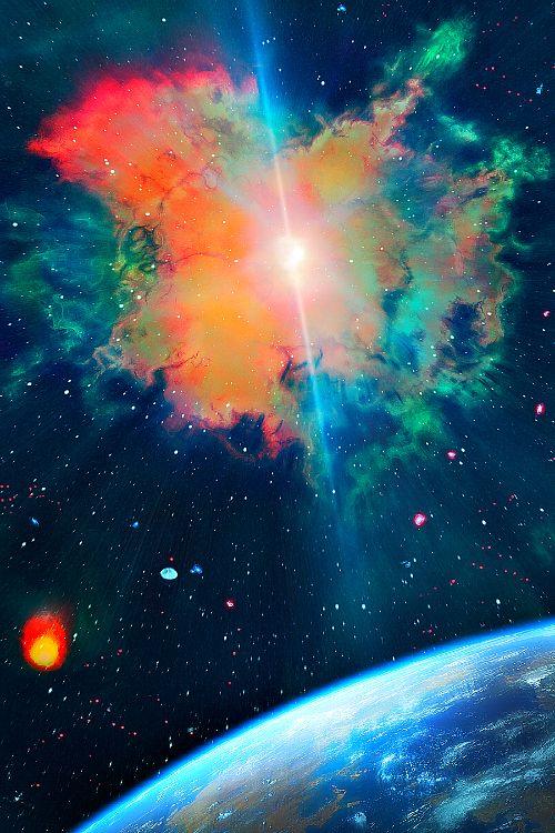 17 best images about landscape on pinterest sky milky for Outer space landscape