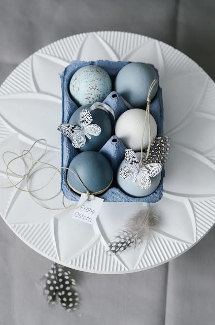 s i n n e n r a u s c h: Zu Ostern mach ich blau.