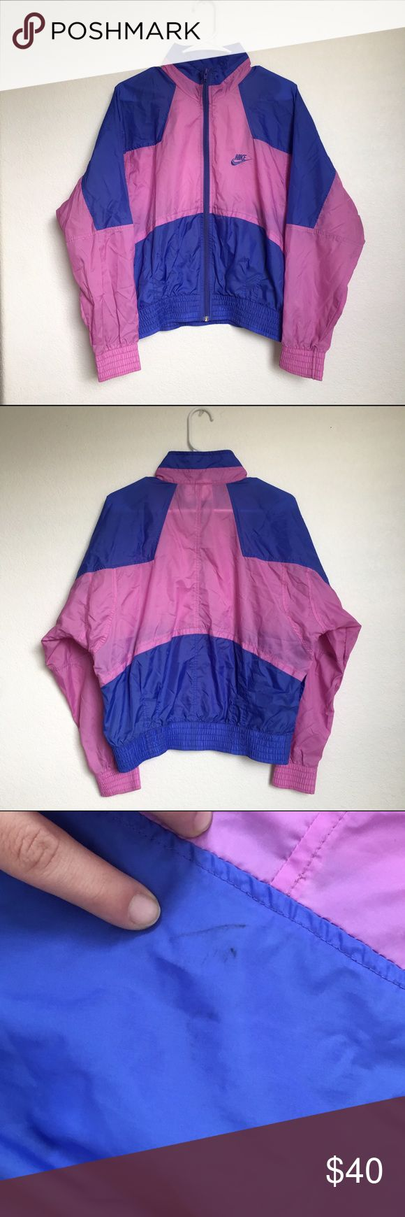 Nike jacket glow in the dark - Vintage 90s Nike Windbreaker Jacket Lightweight Windbreaker With Awesome Color Blocking Detail There Is Very