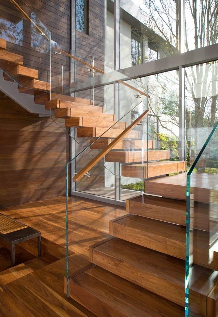 World of #Architecture: Beautiful #House In Brentwood by Belzberg Architects Group | #worldofarchi #modern #contemporary #stairs