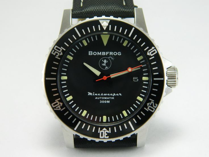 BOMBFROG' is the name of a company founded by a highly trained German Minentaucher (Navy EOD Technician). Description from oceanictime.blogspot.com. I searched for this on bing.com/images