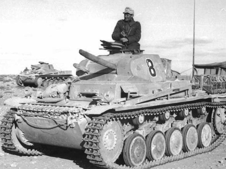 Panzer II #worldwar2 #tanks