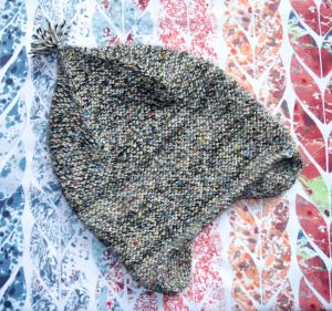 """Garter Ear Flap Hat"" de Purl Bee"