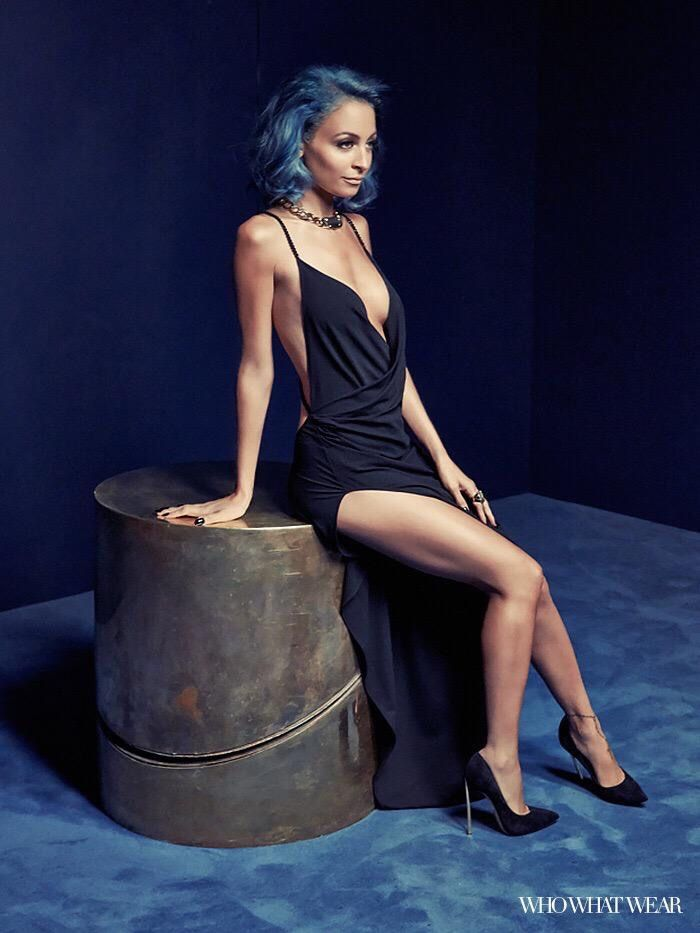 I won't stop dieting until my thighs are thin and I have blue hair. #nicolerichie #thinspiration