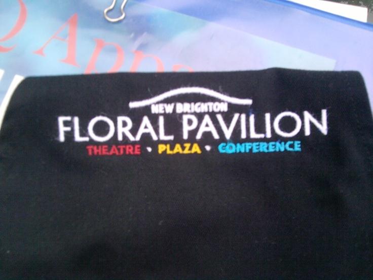 New Brighton Floral Pavilion embroided design