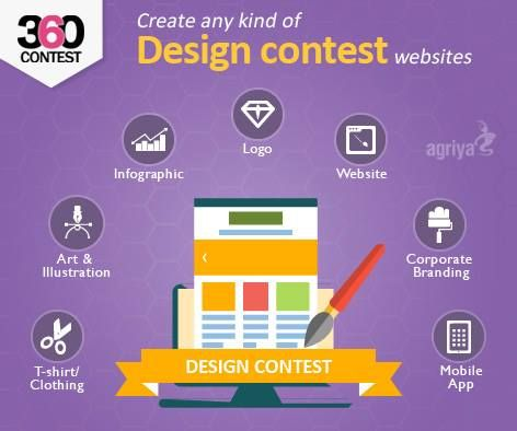 Now it is easy to create any kind of ‪#‎design‬ contest website with Agriya's 360Contest - An innovative ‪#‎Contest‬ software To know more about 360Contest: http://goo.gl/C76Ngg
