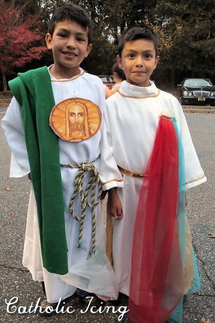 st jude and divine mercy jesus costume ideas