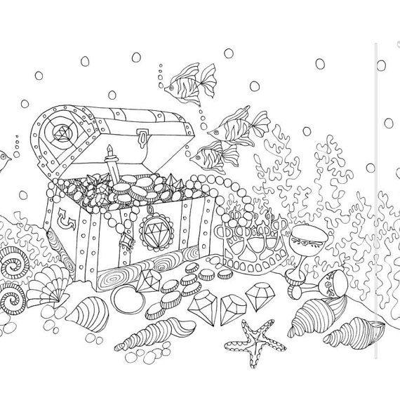25 unique Ocean coloring pages ideas on Pinterest Ocean colors