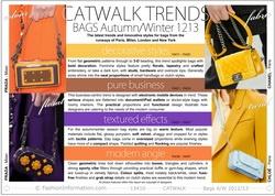 Catwalk Bag Trends Autumn Winter 2012/13