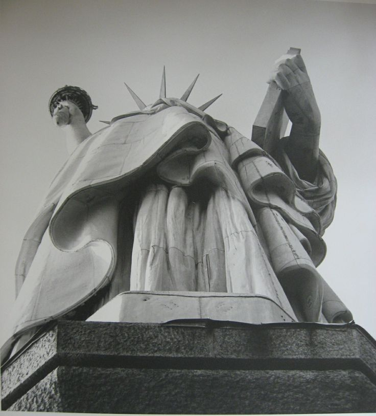 Vivian Maier Statue of Liberty
