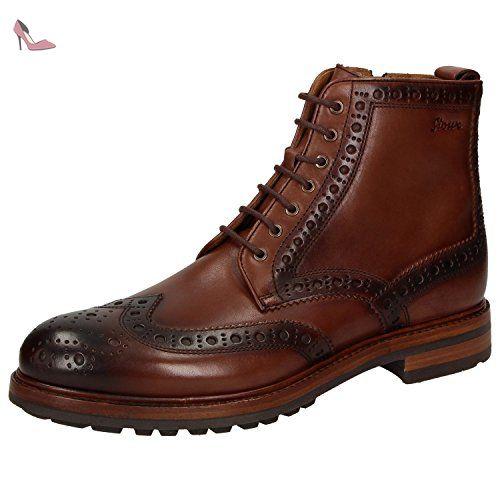 Sioux 32982, Bottes pour Homme - marron - marron, 41 - Chaussures sioux (*Partner-Link)