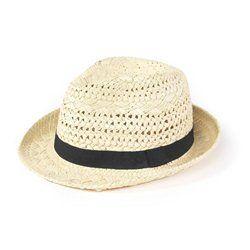 Chapeau de paille homme SOFT GREY