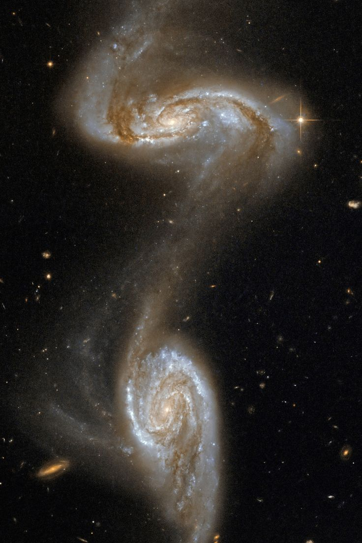 Galaxy Collision It is predicted that one day the Milky Way and the Andromeda will join together in this cosmic dance