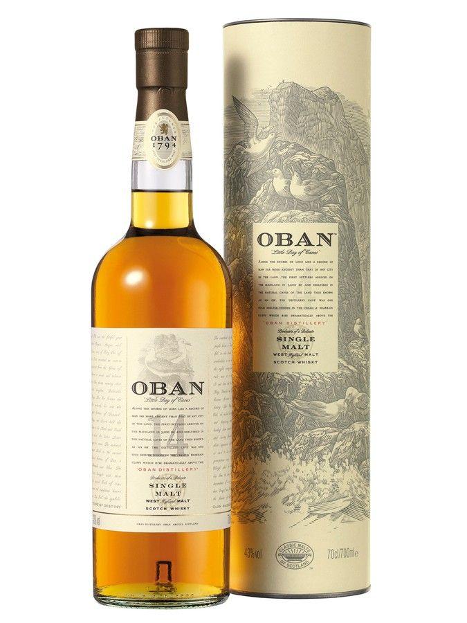 Whisky OBAN 14 ans 43% - A essayer - Carrefour 55 €