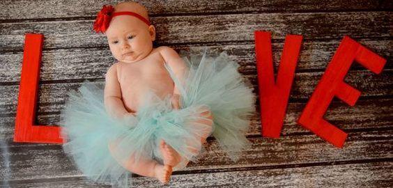 30 Melhores Fotos de Bebês com o Tema Dia dos Namorados