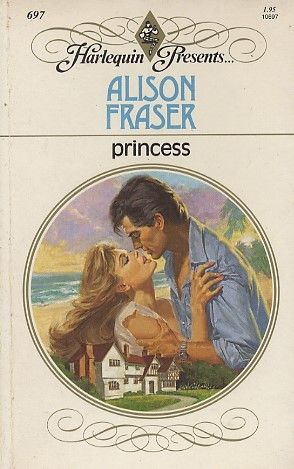 Princess by Alison Fraser, HP 697. Serena Templeton was not a sleeping princess. She was a tragic little figure existing in a shadow world that she had constructed as a fortress to pain. Then Adam Carmichael pierced her defenses and established himself as a force in her life.