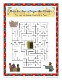 pentecost worksheets
