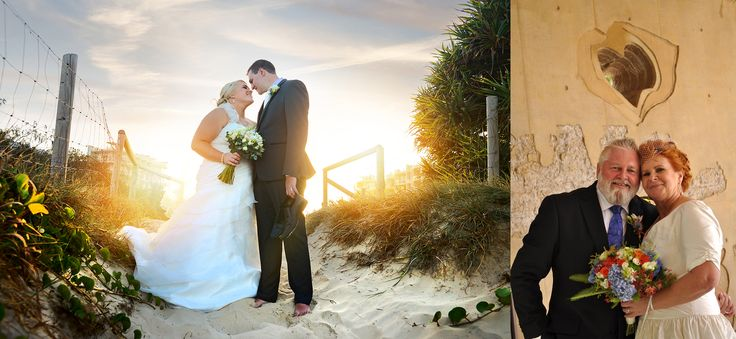 Beach wedding and second chance for love