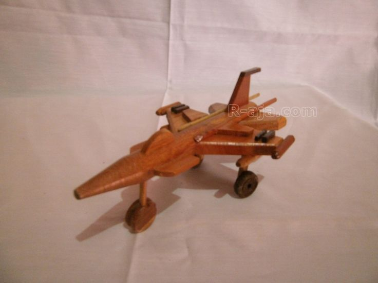 Wood Miniature Aircraft mini F16