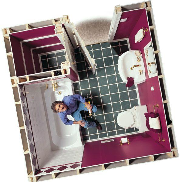 Bathroom Floor Replacement: 1000+ Images About Flooring Tutorials On Pinterest