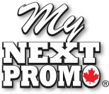 For a limited time, get a FREE $20 Starbucks gift card with a $500 order!!!  Who doesn't love free coffee?! My Next Promo Canadian Promotional Products and Giveaways