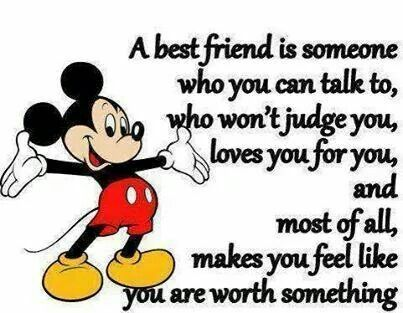 A Best Friend Is Disney Friendship QuotesDisney QuotesBestfriendsBestiesLiveFriends ForeverMickey Mouse TumblrMickey QuotesMinnie
