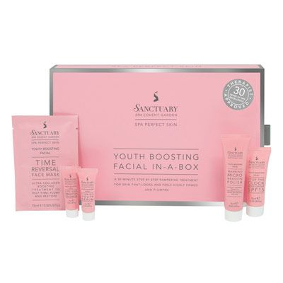 Buy Sanctuary Youth Boosting Facial in a Box 1.0 pack - Priceline Australia