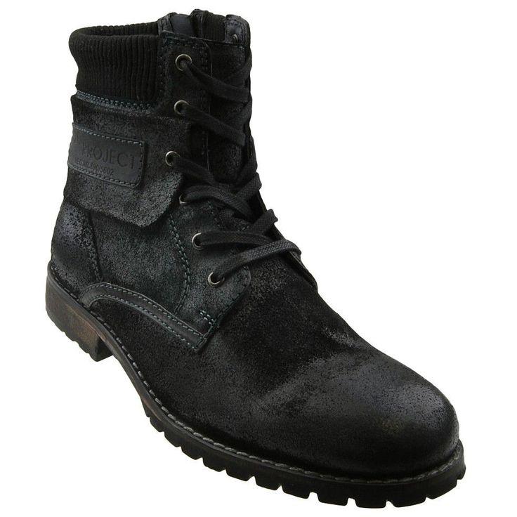 NEU S.Oliver Herrenschuhe Schuhe Stiefel Herrenstiefel Lederstiefel Boots in Kleidung & Accessoires, Herrenschuhe, Stiefel & Boots | eBay