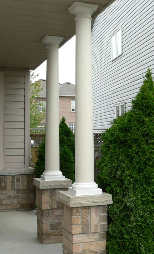15 best exterior fiberglass columns images on pinterest for Fiberglass interior columns