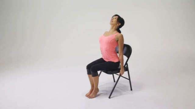 Our friend Michele at Seva Yoga shows how backbends can help with seasonal depression.