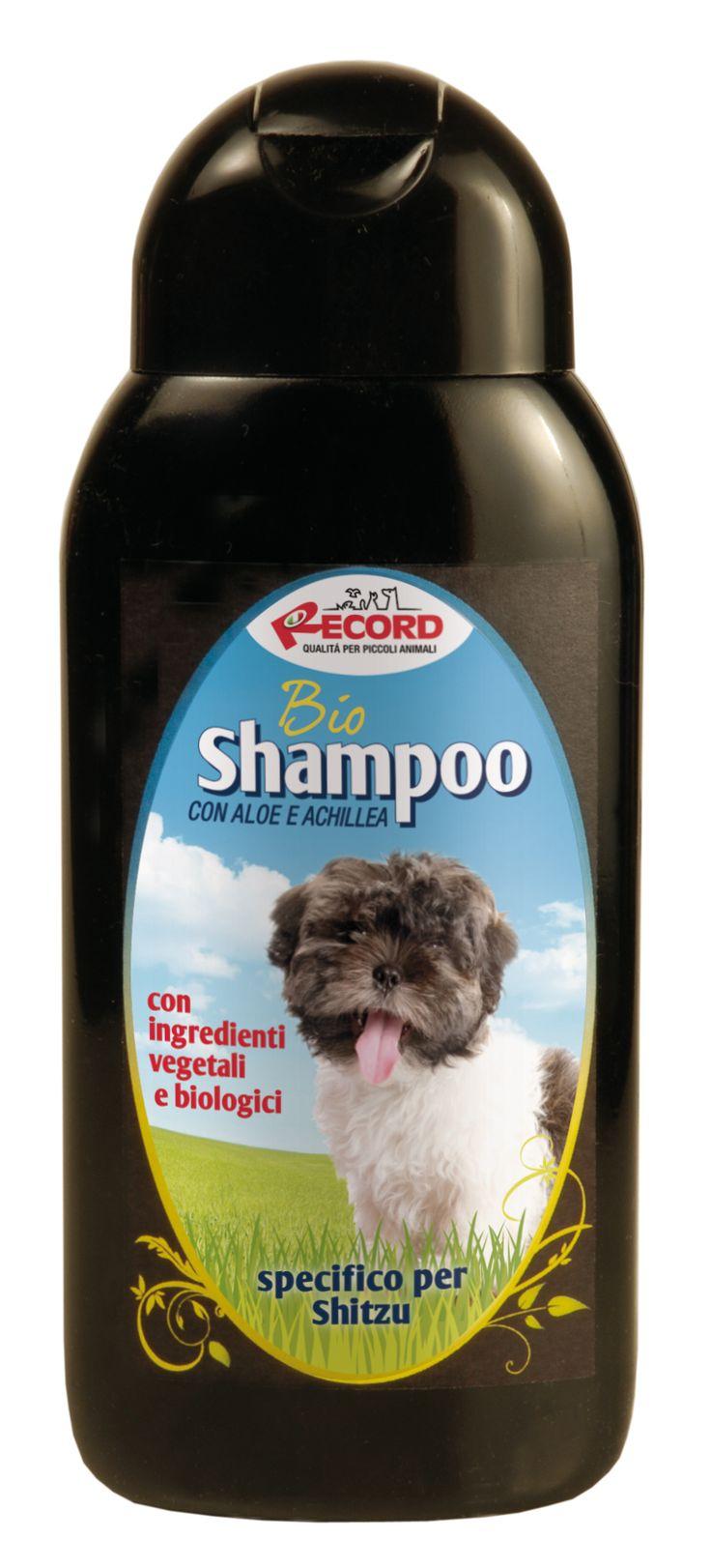 #Bio #shampoo specifico per #cani #Shitzu, by Record. www.recordit.com