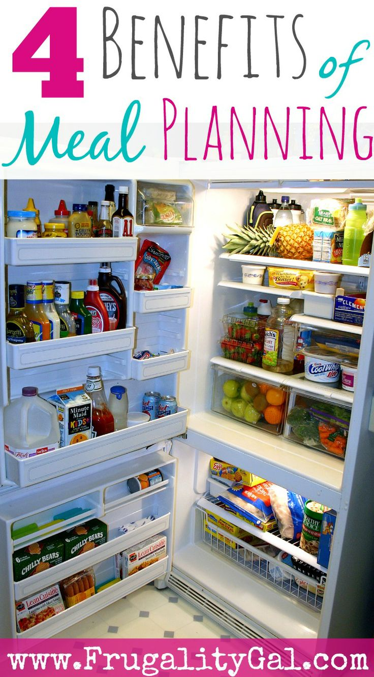 If you're looking to save money on groceries without coupons, here are four reasons you should consider meal planning.   www.frugalitygal.com