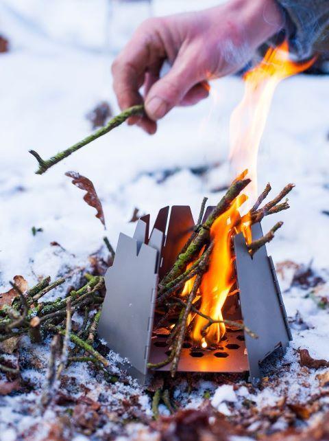 Buy Vargo Titanium Hexagon Wood Stove at OsoGrandeKnives.com.  America's Cutlery Specialists.  Lowest Price Guaranteed, Shop Now!